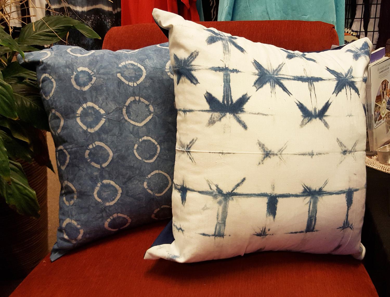 Zumi Collection Llc Home Decor Indigo Tie Dye Pillow Case