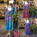 Tie-Dye Dress  Sleeves