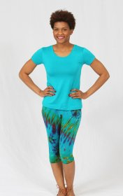 Crop Tie Dye Leggings