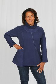 Cowl Neck Cotton Top