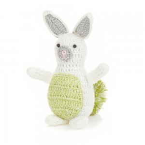Green Pom Easter Bunny